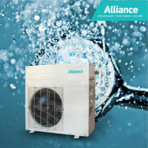 A-RETROFITTED RESIDENTIAL HEAT PUMPS
